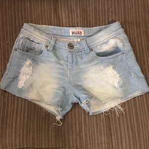 MUDD jegging shorts sz 0